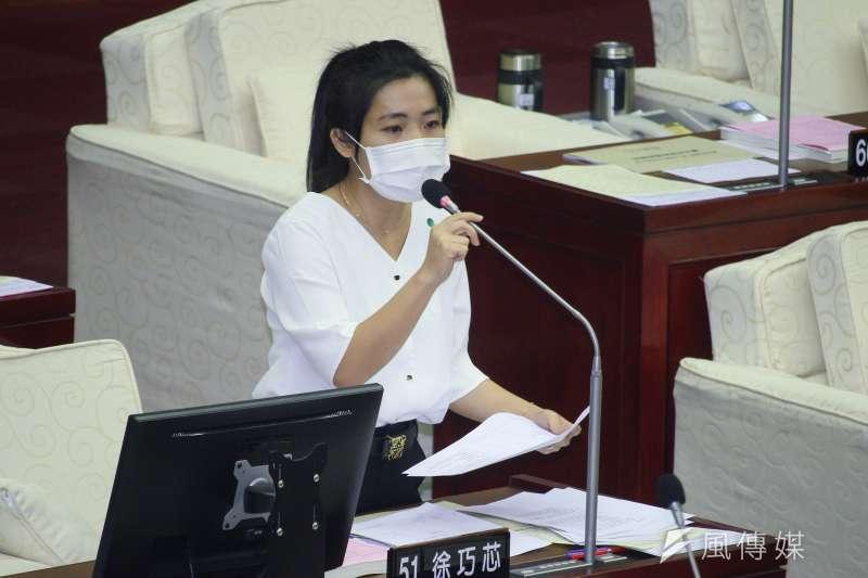 國民黨台北市議員徐巧芯(見圖)認為,高雄市長韓國瑜要被罷免其實不容易,因為討厭他的人不見得覺得需要罷免。 (資料照,蔡親傑攝)