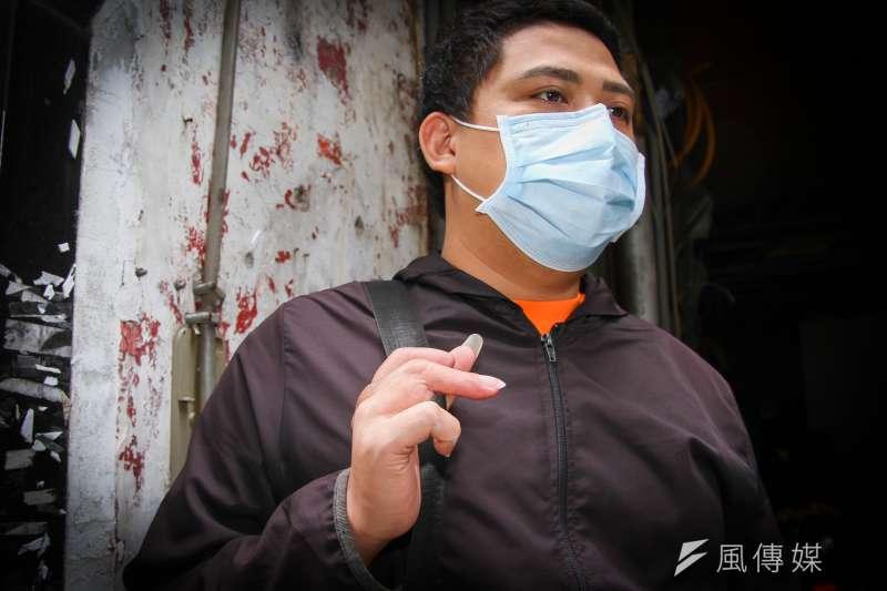 20200421-移工專題:職災移工受害人阿重專訪。(蔡親傑攝)