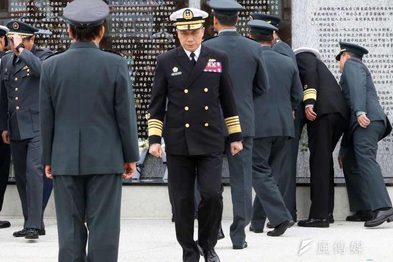 20200423-海軍司令劉志斌上將。(蘇仲泓攝)