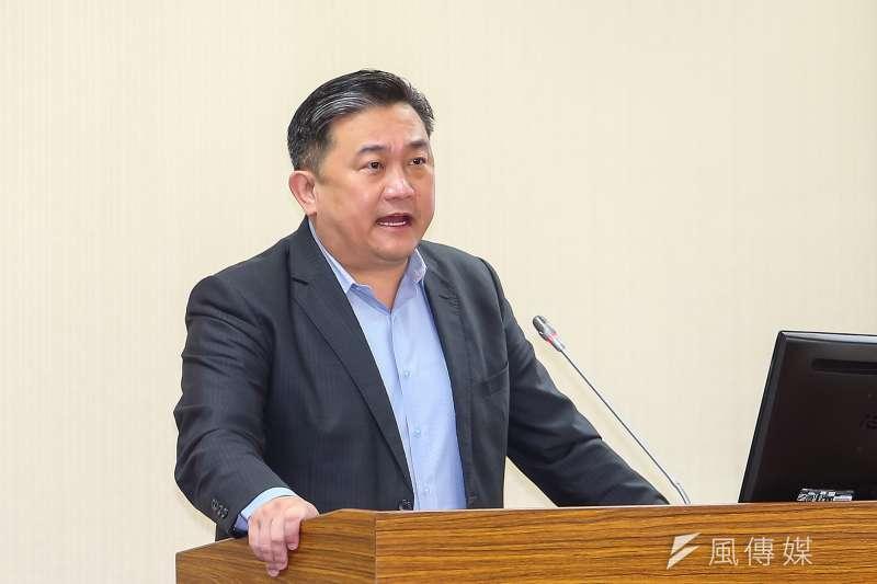 民進黨立委王定宇(見圖)表示,共機「溫水煮青蛙」的情況並不會出現,台灣國軍有標準的接戰指令,該動手就會動手。(資料照,顏麟宇攝)