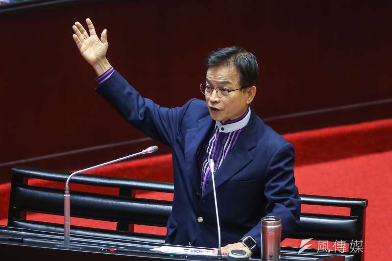 國民黨立委賴士葆表示,謝長廷是「大甩鍋」推給歷史,「輿論如何撻伐,所有的事情都與他無關,謝長廷真的厲害了。」(資料照,顏麟宇攝)