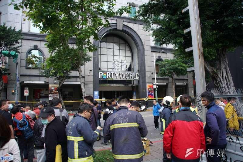 台北市錢櫃KTV林森店4月間發生火警後,北市府嚴查電梯安全。(資料照,盧逸峰攝)
