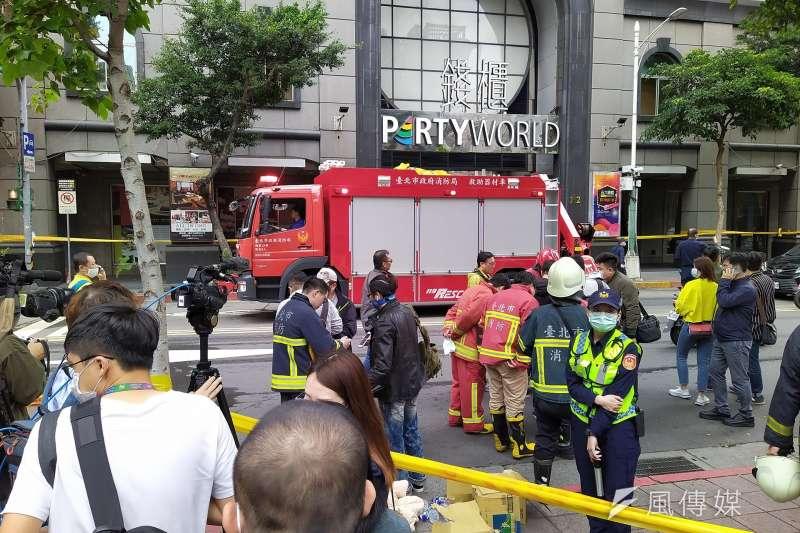 錢櫃林森店4月26日發生火警,疑似是因為消防警示系統被關閉而延誤民眾逃生的時間。(資料照,盧逸峰攝)