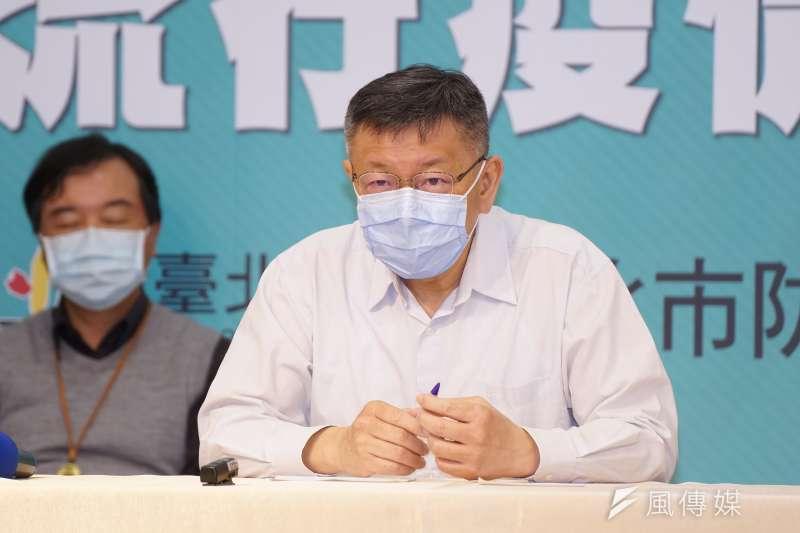 台北市議員游淑惠質疑台北市長柯文哲(見圖)上任這5年,火警傷亡人數增加。(盧逸峰攝)
