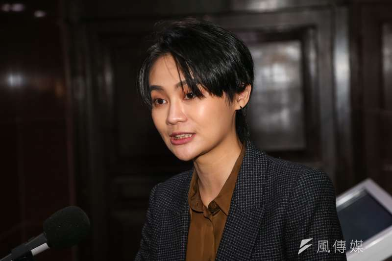 20200428-民進黨立委賴品妤28日接受媒體聯訪。(顏麟宇攝)