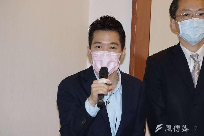 針對外傳政府將宣布美豬開放,民進黨立委何志偉28日受訪時表示「台豬、美豬終將一戰」。(資料照,盧逸峰攝)