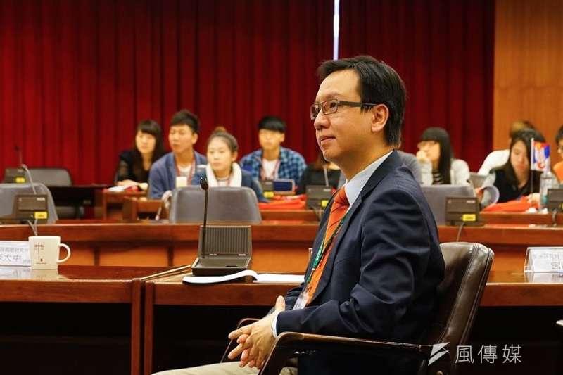 20200429-淡江大學國際事務與戰略研究所副教授李大中。(盧逸峰攝)