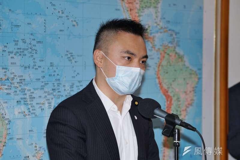 20200429-立委洪孟楷29日接受媒體採訪。(盧逸峰攝)