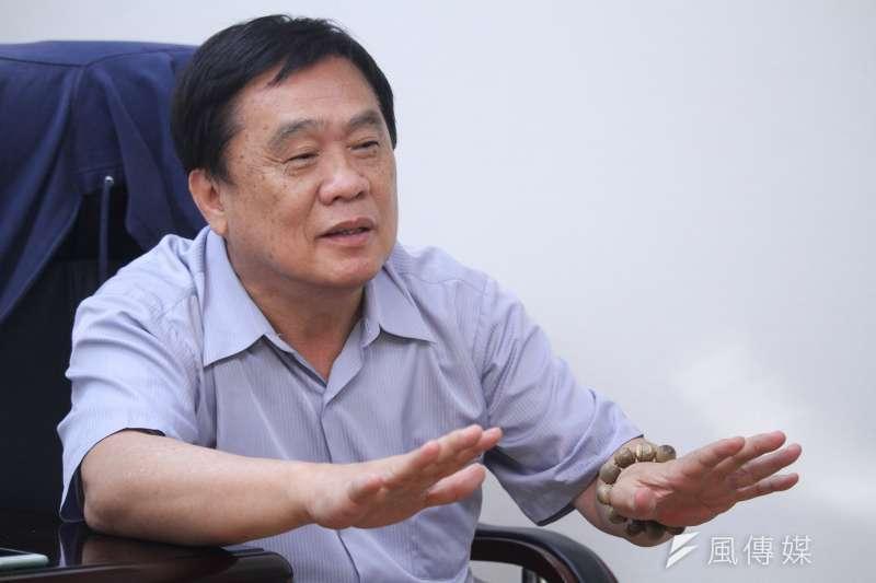 20200429-立委翁重鈞29日接受專訪。(蔡親傑攝)