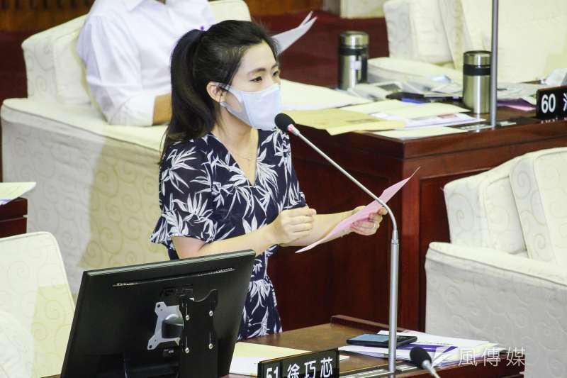 國民黨台北市議員徐巧芯(見圖)建議,把軍事訓練役先從4個月提高到6個月,一步一步提升到1年,再加上優化的訓練內容,國軍未來人力才會夠。(資料照,蔡親傑攝)