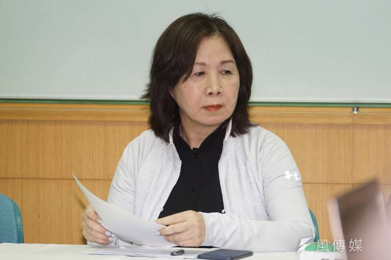 民進黨台北市黨部主委參選人薛凌(見圖)和王孝維競爭激烈,雙方人馬在中常會上也互相出招。(盧逸峰攝)