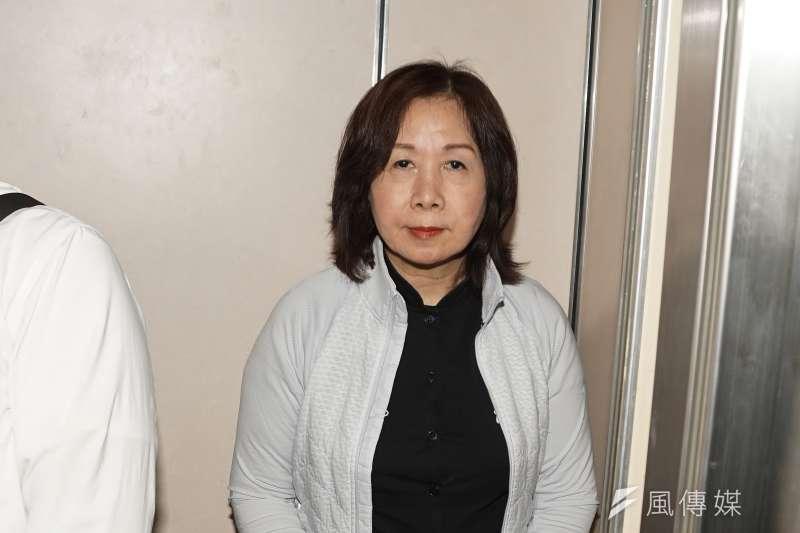 20200506-民進黨台北市黨部主委參選人薛凌6日召開記者會。(盧逸峰攝)