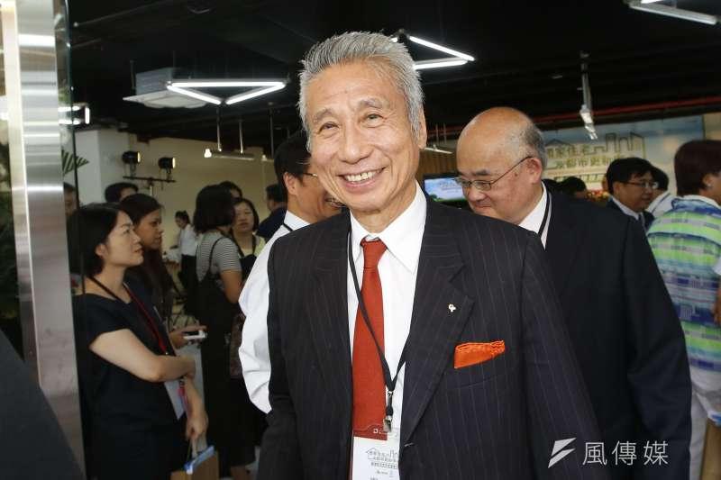 王光祥成大同前十大股東之後,就被大同公司派與媒體盯上。(郭晉瑋攝)