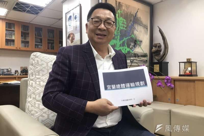 20200508-民進黨立委陳歐珀接受《風傳媒》專訪。(黃信維攝)