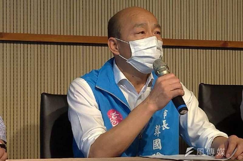 高雄市長韓國瑜(見圖)的罷免選舉來勢洶洶,筆者認為可以藉由投票率低於25%讓罷免行動失敗。(資料照,徐炳文攝)