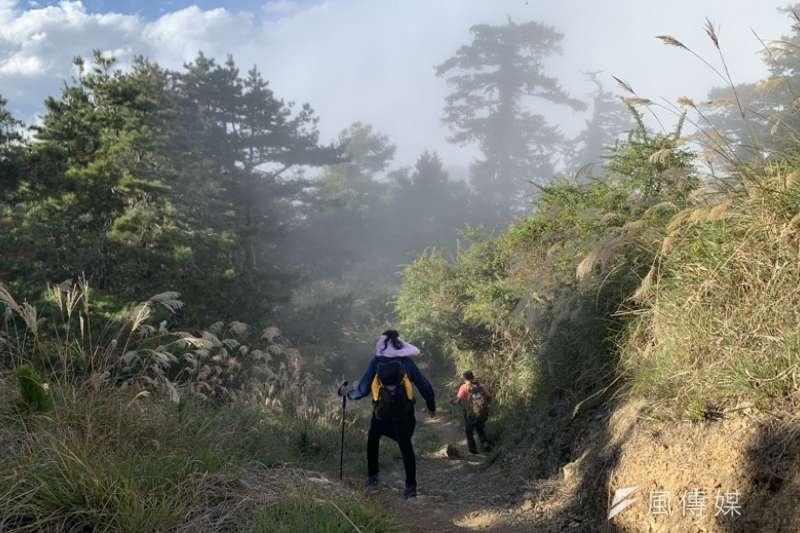 不少民眾因無法出遊而選擇國旅,然而專家提醒,台灣的山林,並不是想像中那麼容易親近,上山前務必都準備好了,才不會讓家人擔心。(資料照,呂紹煒攝)