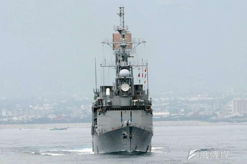 海軍再爆醜聞事件,圖為基隆級「基隆艦」,示意圖,非關新聞個案。(資料照,蘇仲泓攝)