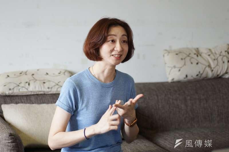 20200511-紀錄片《千年一問》導演王婉柔接受《風傳媒》專訪。(盧逸峰攝)