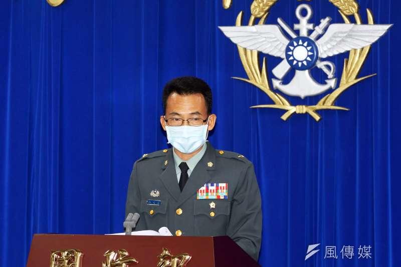20200512-國防部作計室聯戰處長林文皇少將。(蘇仲泓攝)