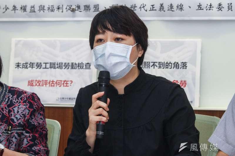 20200513-台灣少年權益與福利促進聯盟召開「青少年遭霸凌及囚虐」記者會,圖為該會秘書長葉大華。(蔡親傑攝)