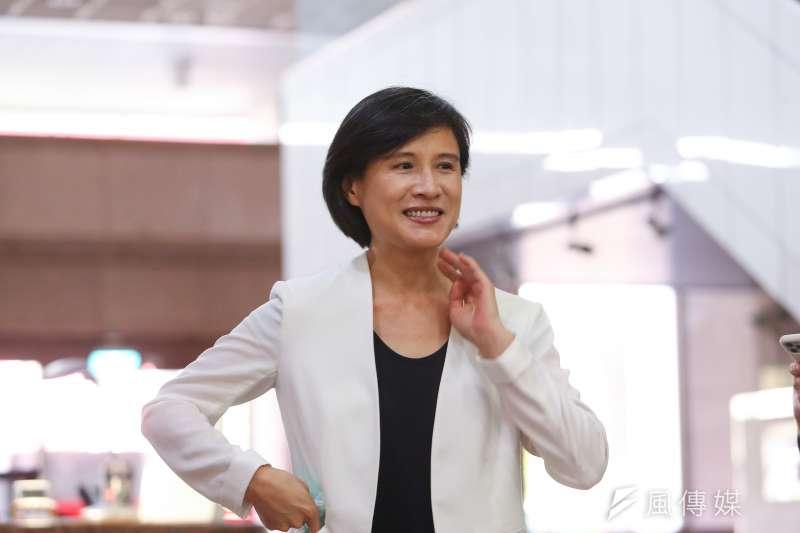 前文化部長鄭麗君(見圖)日前接受《民視》專訪時表示,目前沒有規劃要選台北市長。(資料照,顏麟宇攝)