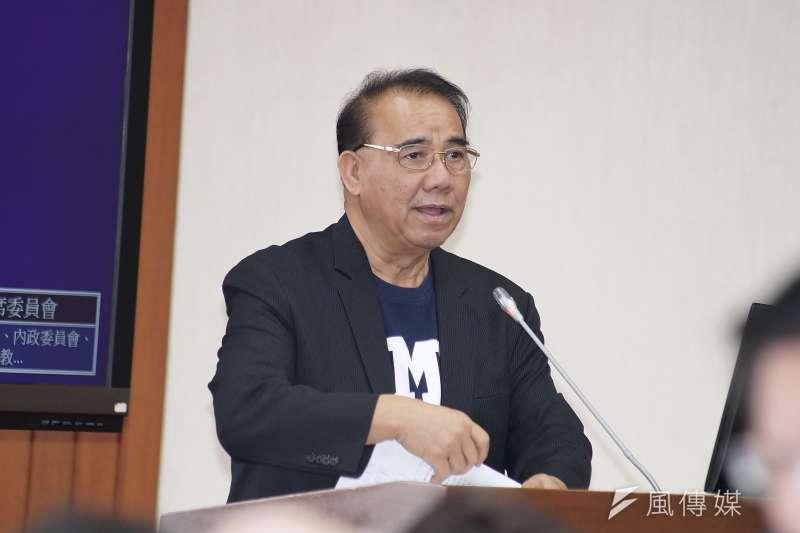 國民黨立委廖國棟(見圖)、陳超明被停權。(資料照,盧逸峰攝)