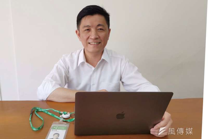 行政院顧問的鄭宏輝擔任亞洲矽谷計畫執行中心顧問,兼任新竹辦公室主任。(圖/亞矽中心新竹辦公室提供)