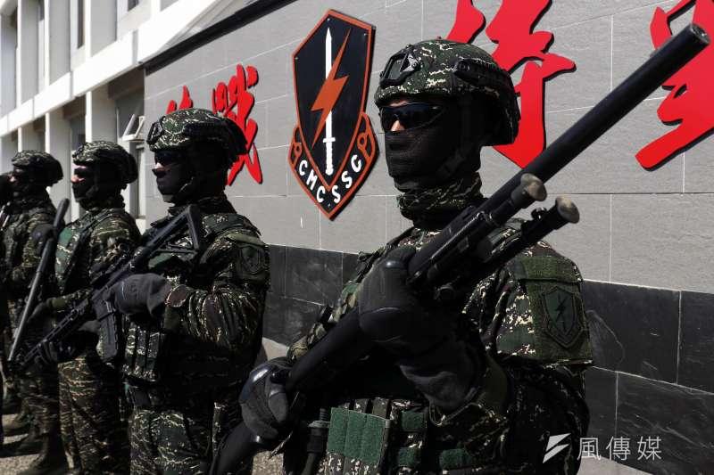 若中國企圖取得東沙群島,台灣軍隊勢必全力反擊。(蘇仲泓攝)
