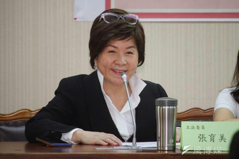 20200515-立委張育美出席「亞洲第一公衛師法,邁向全球公衛大國」記者會。(蔡親傑攝)