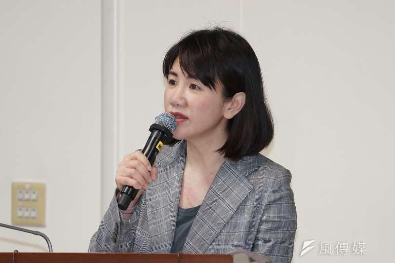 20200518-立委謝衣鳳18日於經濟委員會質詢。(盧逸峰攝)