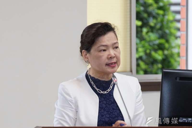 經濟部長王美花將於美台經濟合作展望(U.S.-Taiwan Economic Cooperation: Looking Ahead)線上研討會中致詞、演講,談論台美經貿關係。(盧逸峰攝)