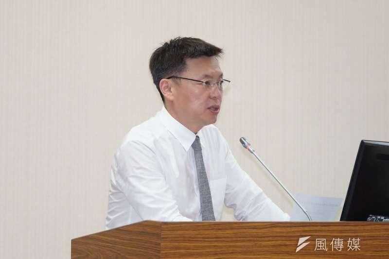 20200518-立委趙天麟18日於國防委員會質詢。(盧逸峰攝)