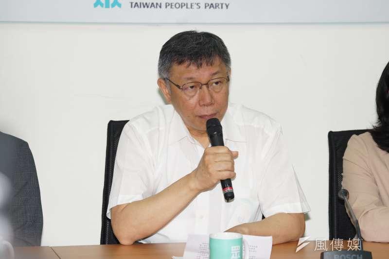 台師大政治研究所教授曲兆祥認為,罷韓投票過後,民進黨下個目標就是台北市長柯文哲(見圖)領導的台灣民眾黨。(資料照,盧逸峰攝)