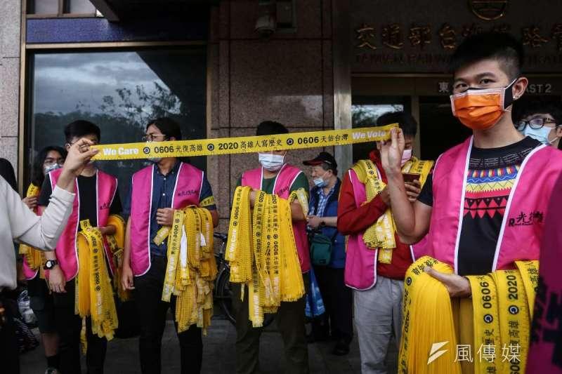 高雄市長韓國瑜罷免投票進入倒數階段,罷韓團體把握時間,25日晚間將在旗山舉辦「三山會師罷韓演習」。(資料照,陳品佑攝)