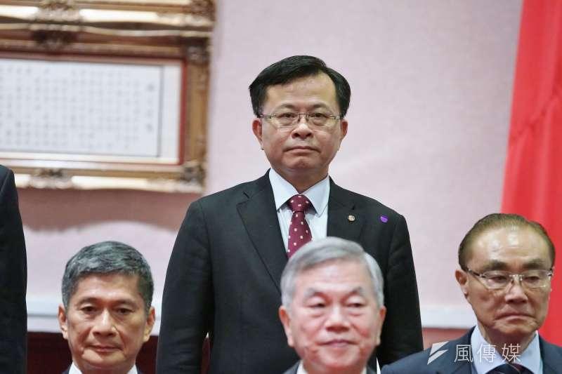 20200520-NCC主委陳耀祥20日出席閣員合影。(盧逸峰攝)