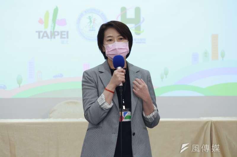 針對台北市文華東方酒店傳出將資遣大量員工一事,台北市副市長黃珊珊29日進行說明。(資料照,方炳超攝)