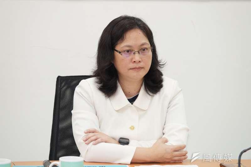 民眾黨立委賴香伶表示,民眾黨團日前特別提出《立法委員行為法》增訂第14條之1草案,並於29日交付司法及法制委員會審查。(資料照,盧逸峰攝)