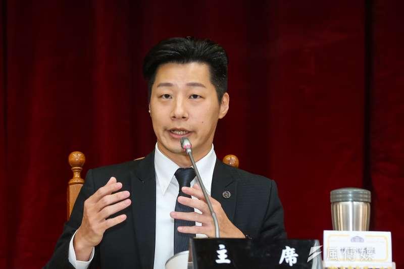 20200529-無黨籍立委林昶佐29日出席「台灣國會香港友好連線」成立大會 。(顏麟宇攝)