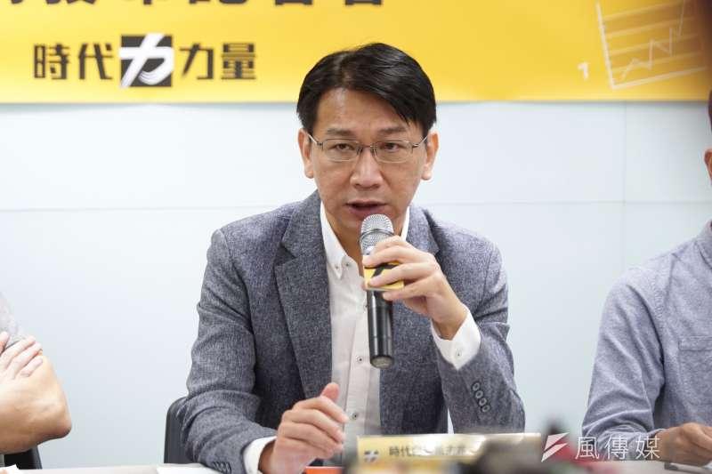 因法官認為前立委、時代力量主席徐永明只是期約賄賂,因此裁定80萬元交保。(資料照,盧逸峰攝)