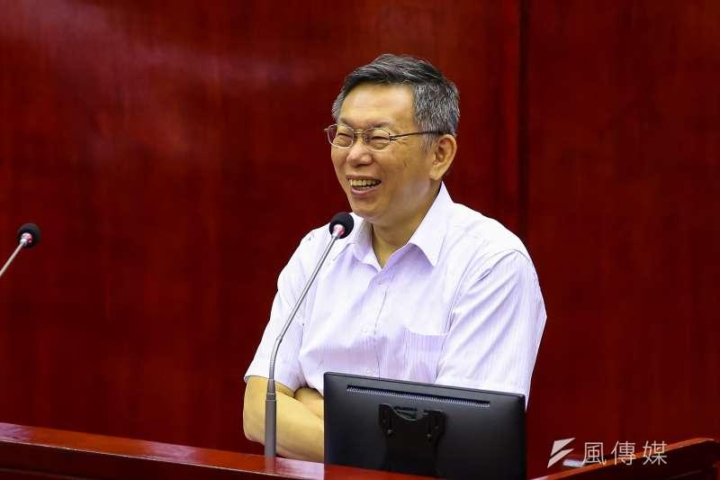 20200601-台北市長柯文哲1日於議會備詢。(顏麟宇攝)
