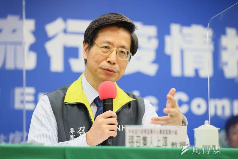 針對國內疫情,中央流行疫情指揮中心專家小組召集人張上淳(見圖)6日在記者會做出總結報告。(資料照,中央流行疫情指揮中心提供)