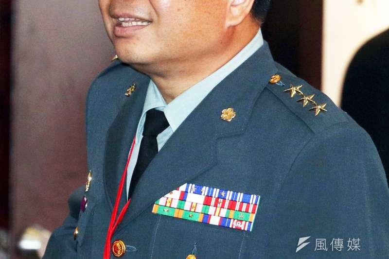20200603-國防部軍備副部長的張冠群上將是國軍第2位博士。(蘇仲泓攝)