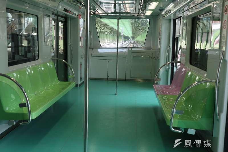 台中市捷運綠線環狀路線,與原還幅射路網不同,未來將改變民眾交通習慣。(圖/記者王秀禾攝)