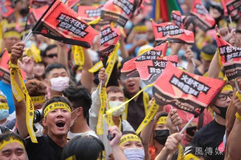 韓國瑜罷免案獲得近94萬同意票,將撼動台灣政局。(顏麟宇攝)