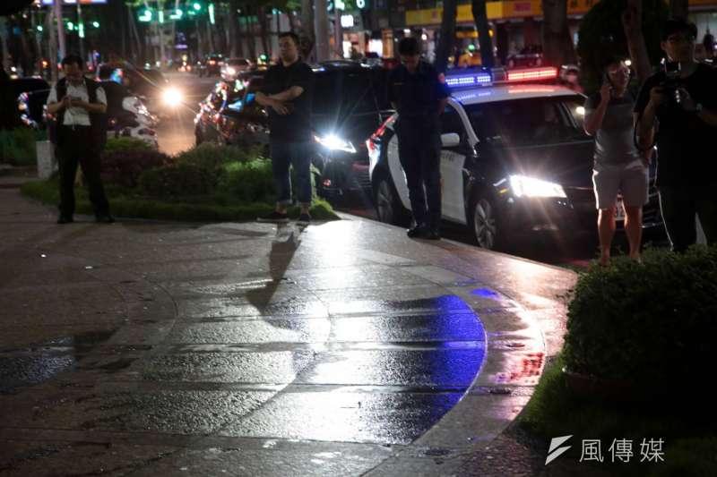 20200606-高雄市長韓國瑜罷免案過關後,驚傳高雄市議長許崑源於6日晚上8時45分自住家墜樓身亡。(顏麟宇攝)