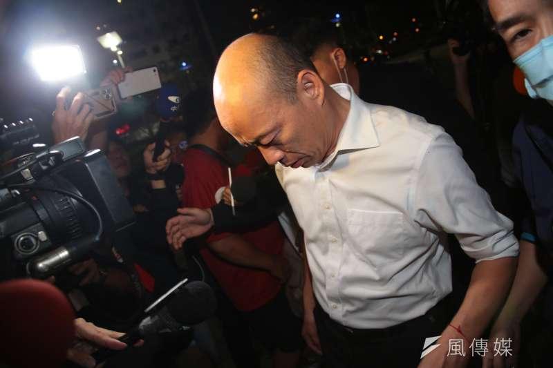 成大教授李忠憲分析高雄市長韓國瑜(見圖)罷免案成功,是「一群年輕人」努力奮鬥不懈的結果。(資料照,顏麟宇攝)