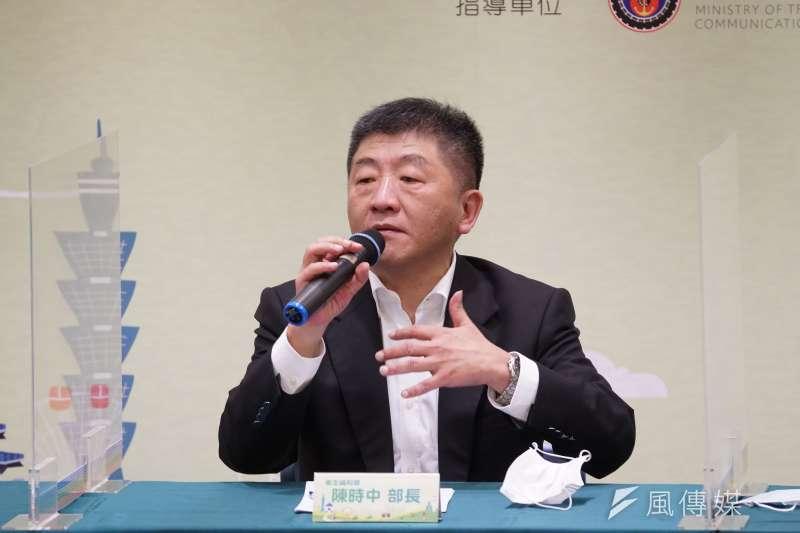 20200608-衛福部長陳時中8日出席「安心旅遊國旅補助方案」記者會。(盧逸峰攝)
