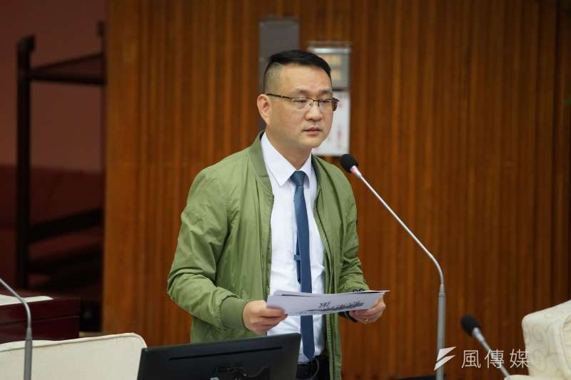 針對台北市黨部主委,台北市議員阮昭雄1日表示,民進黨的團結是最重要的。(資料照,盧逸峰攝)