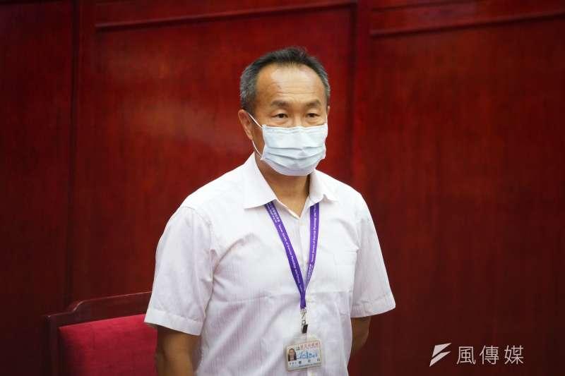 台北市政府體育局長李再立近日被爆出公器私用、濫用公帑,對此李再立今(28)日出面解釋。(資料照,盧逸峰攝)