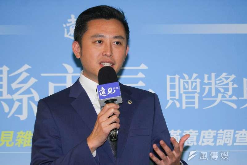 新竹市長林智堅風評不錯,但面對2022縣市長選舉,綠營並無順利接棒的把握。(資料照,蔡親傑攝)